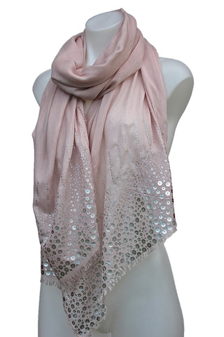 Long Silky Shimmering Scarf