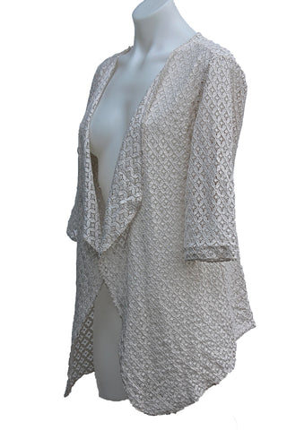 Lace Open Cardigan