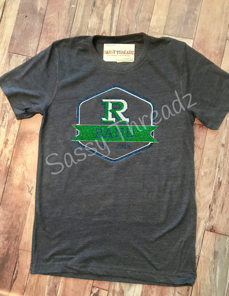 Reedy High School Band FISD Glitter Tee