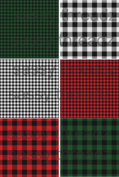 Buffalo Plaid HTV Transfer