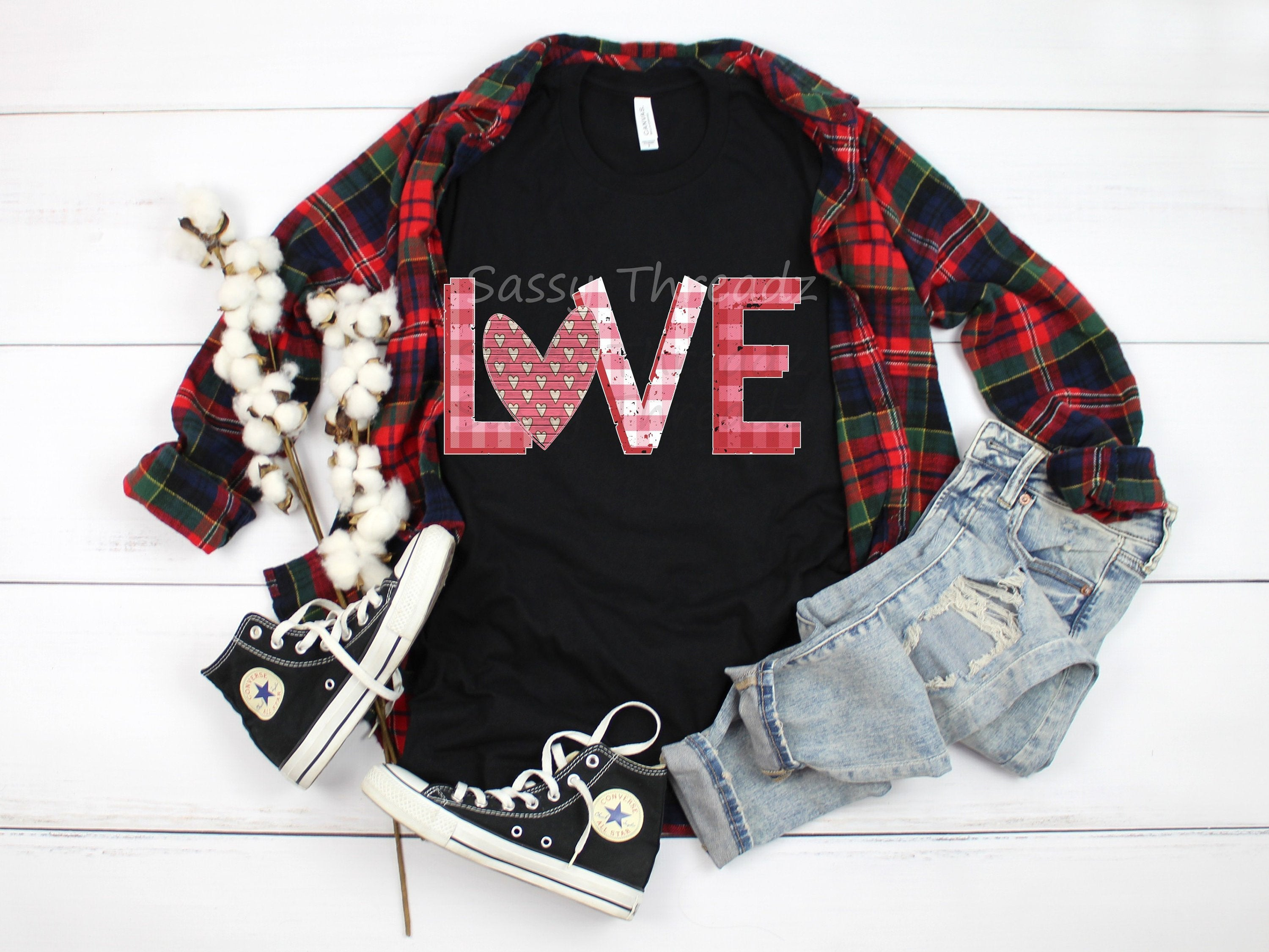 Love Heart Valentine Heart Shirt