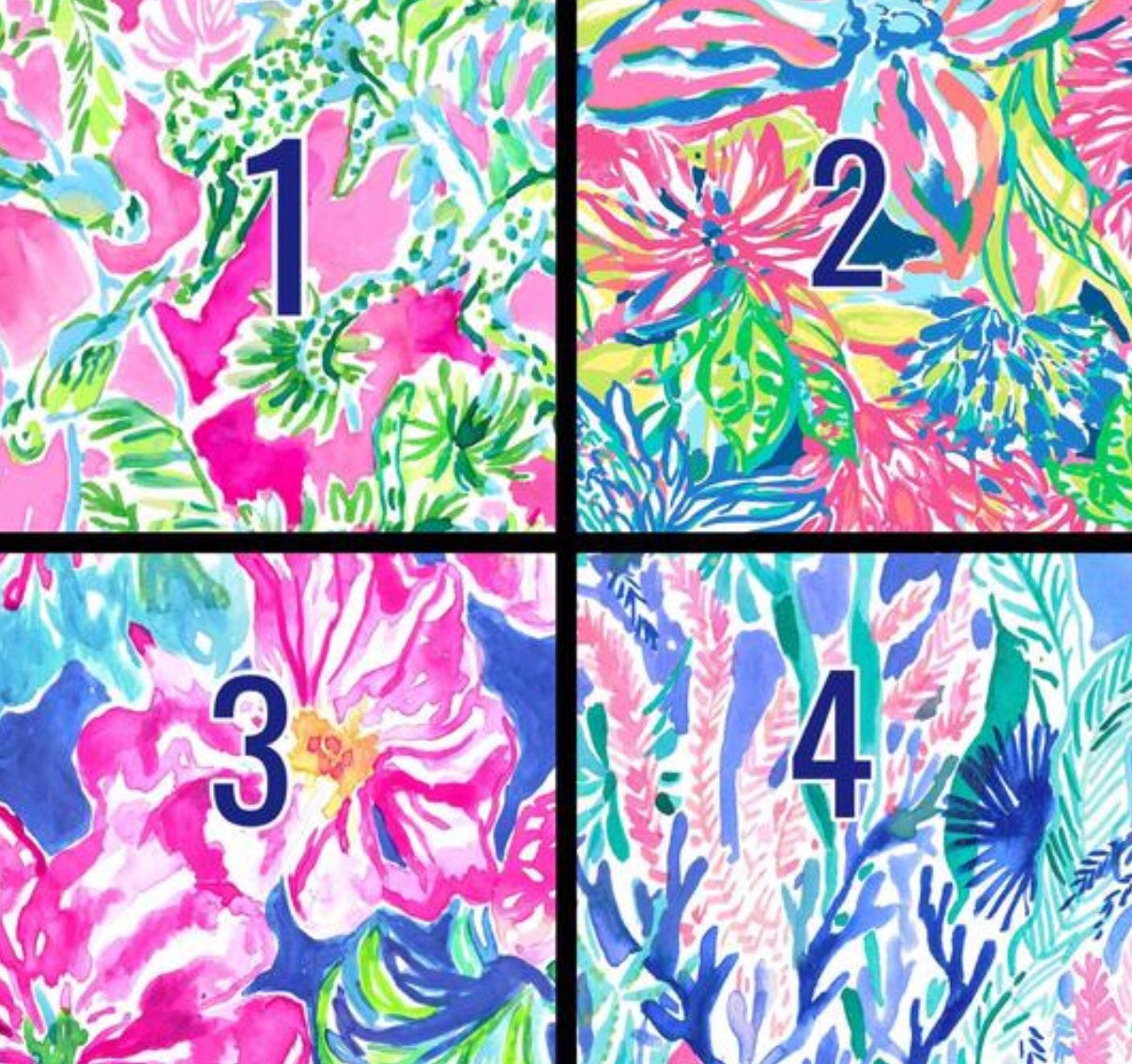 Lily Pulitzer Inspired Adhesive Vinyl