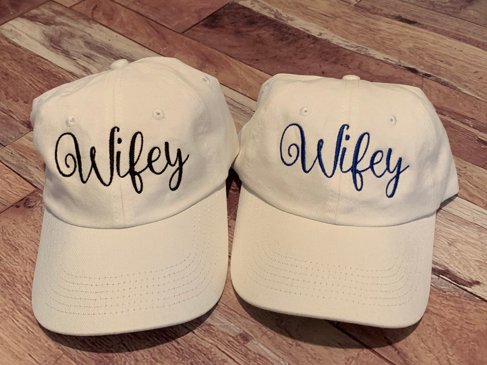 Wifey embroidered White Hat