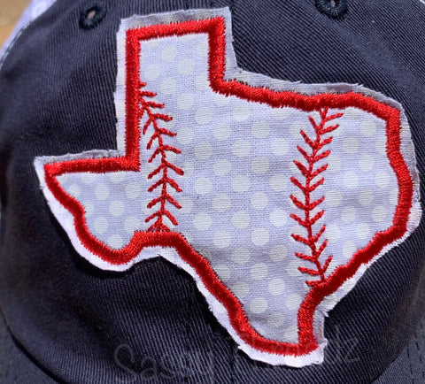 Baseball Texas Trucker Hat