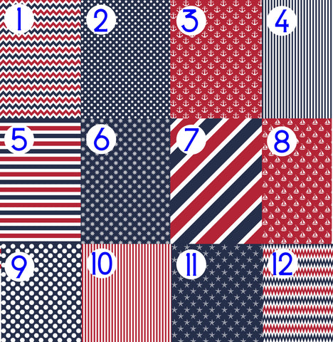 Patriotic Heat Transfer Vinyl HTV Red White and Blue Fourth of July