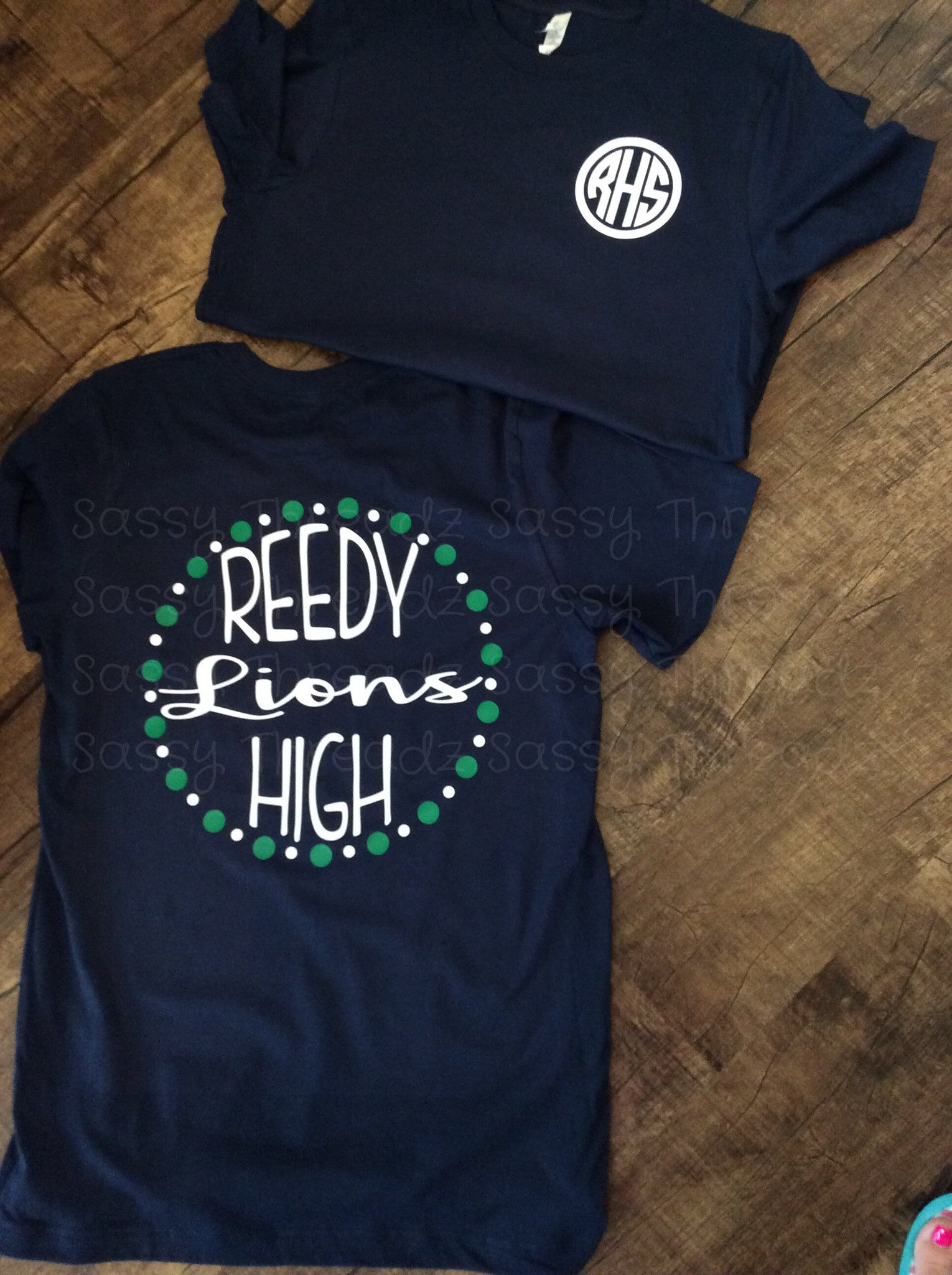 Navy Reedy High School Tee
