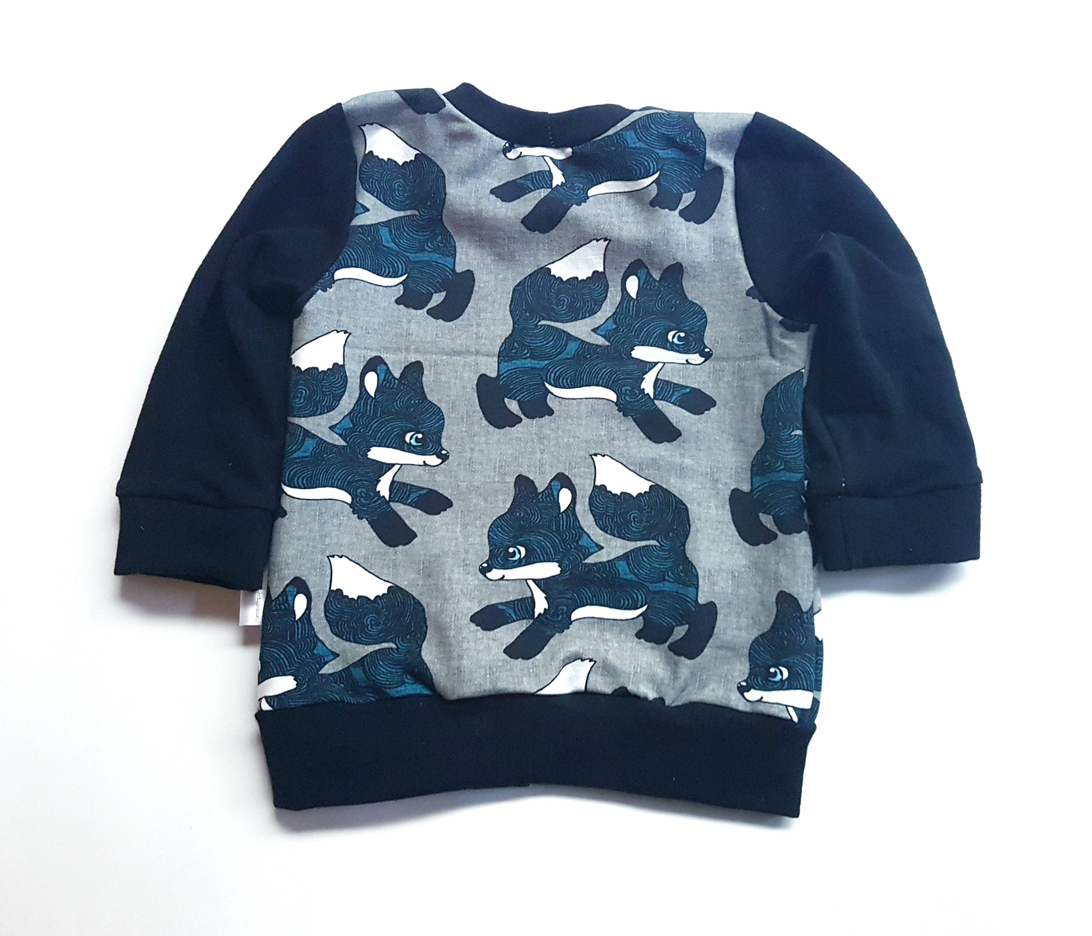 Long Sleeve Pullover | Blue Foxes