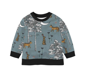 Organic Children's Pullover | Woodland Sweater