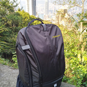 Mudroom Backpack Quartable V2.0 18L for the everyday commuter with padded laptop sleeve and separate shoe pockets