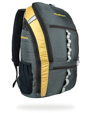 Mudroom Backpack Quartable 18L for the everyday commuter with padded laptop sleeve and separate shoe pockets
