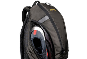Mudroom Backpack with separate shoe pockets