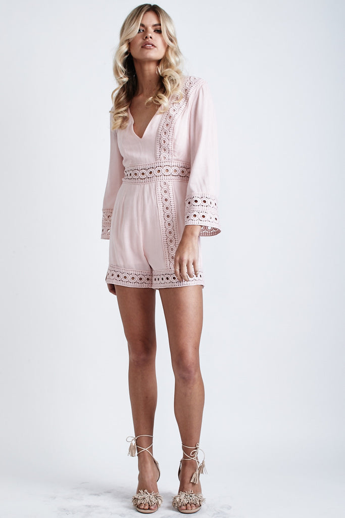 Cindy Playsuit Blush - Morrisday | The Label - 2