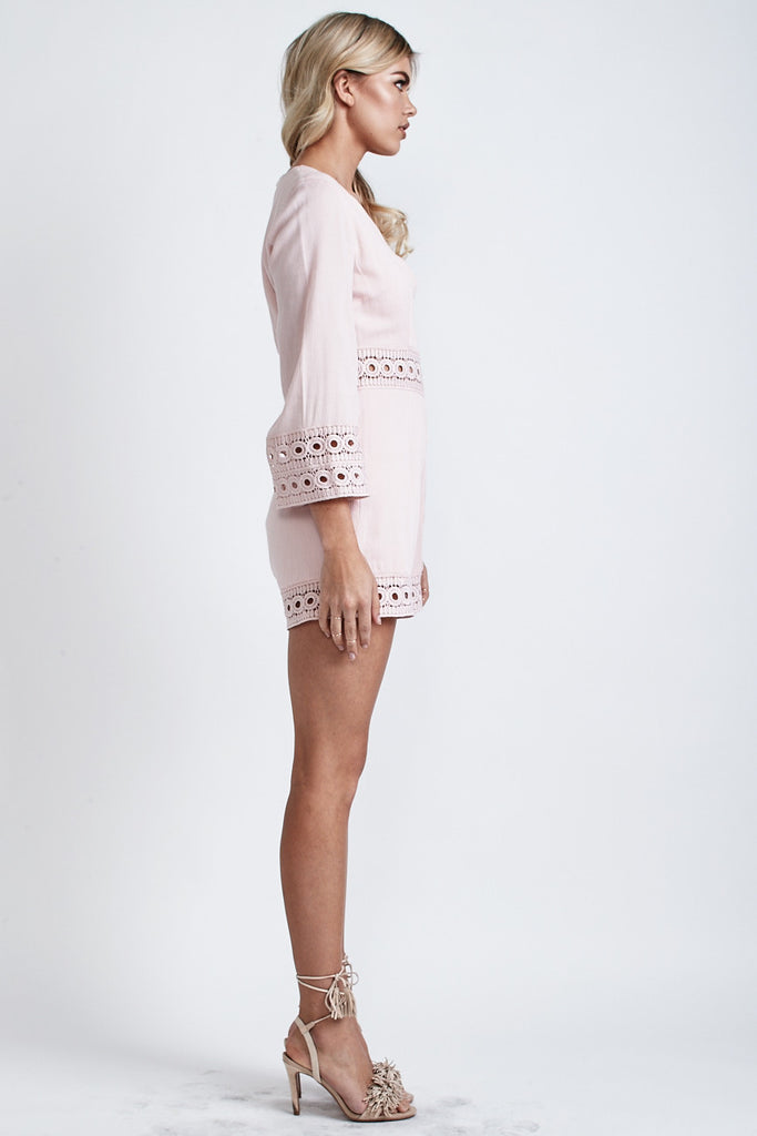 Cindy Playsuit Blush - Morrisday | The Label - 4