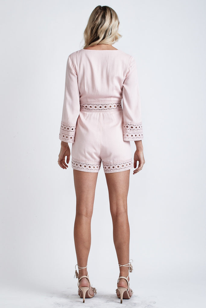 Cindy Playsuit Blush - Morrisday | The Label - 5