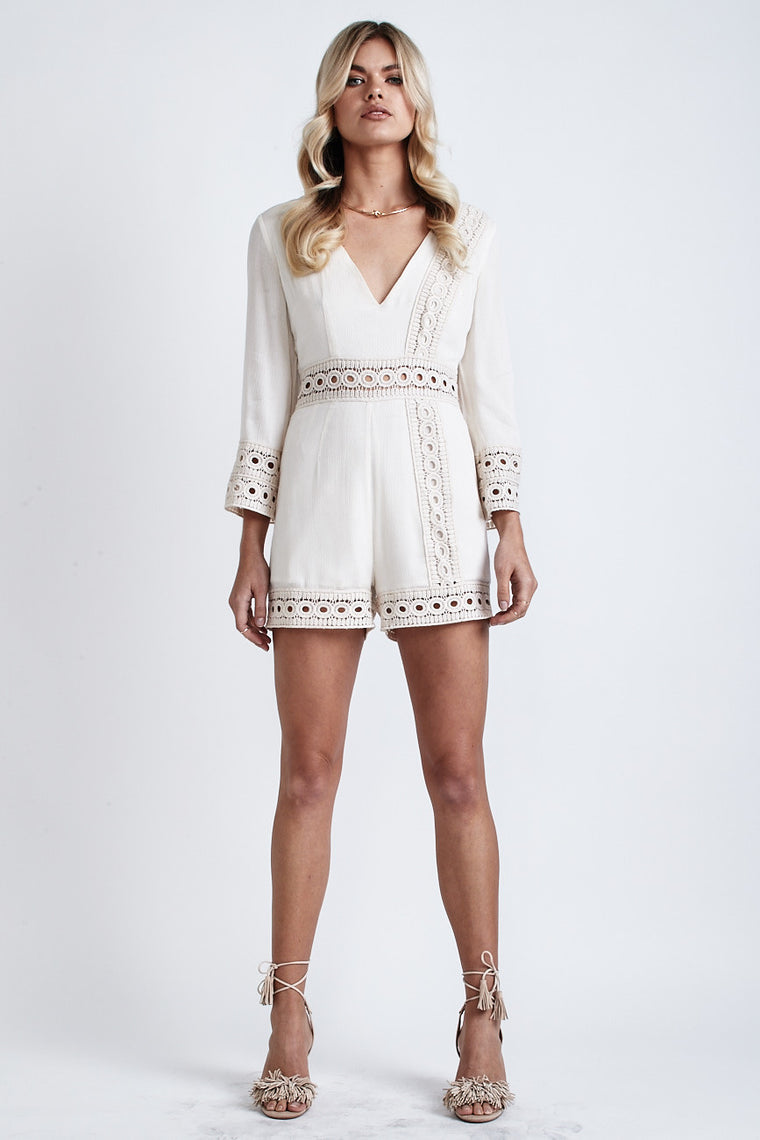 Cindy Playsuit Cream - Morrisday | The Label - 1