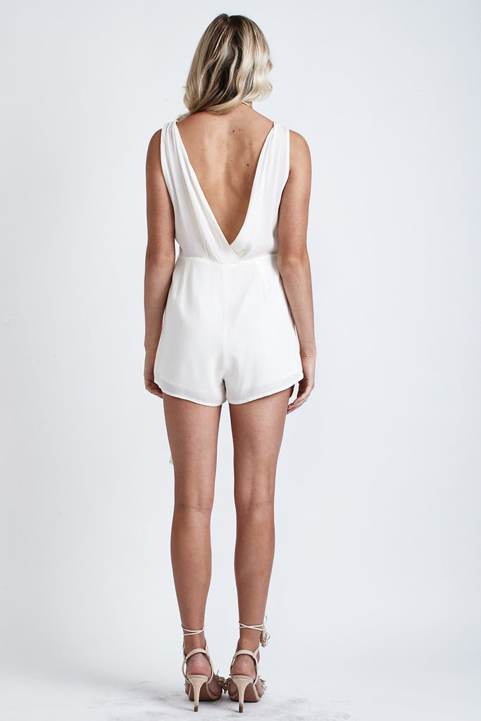 Love Me Knot Playsuit Cream - Morrisday | The Label - 3