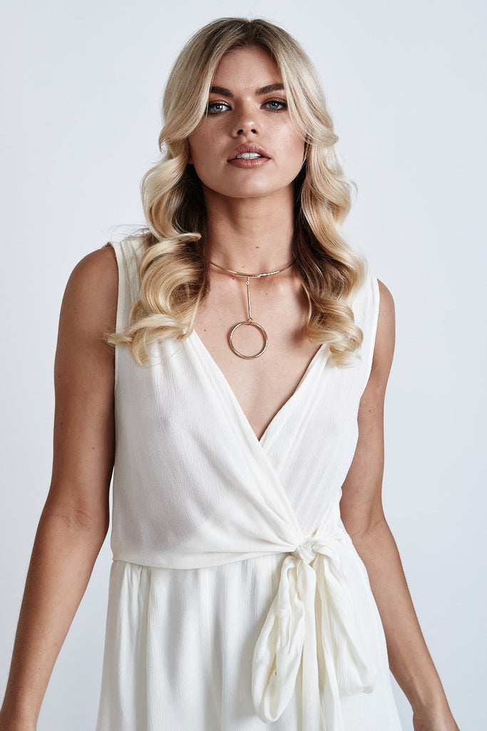 Love Me Knot Playsuit Cream - Morrisday | The Label - 7