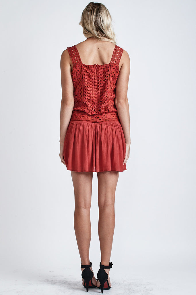 Alice Mini Dress Red - Morrisday | The Label - 5