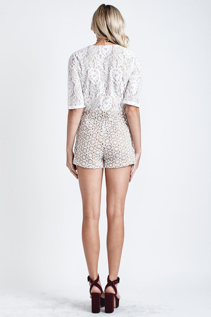 Bella Lace Playsuit White - Morrisday | The Label - 6