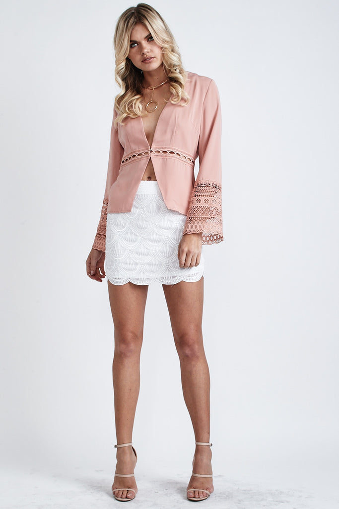 Willow Long Sleeve Top Nude - Morrisday | The Label - 2