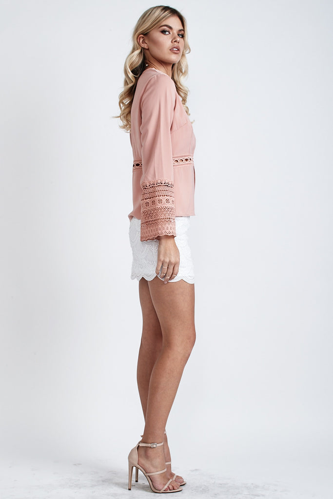 Willow Long Sleeve Top Nude - Morrisday | The Label - 3