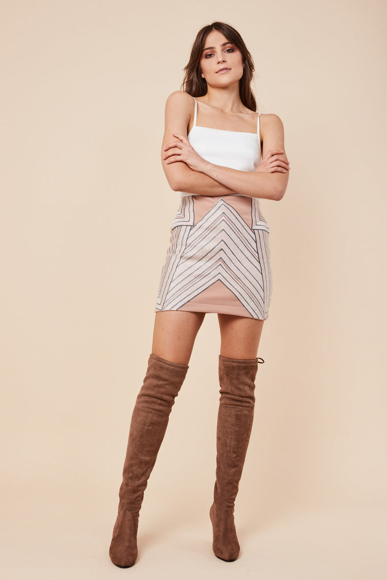Highline Skirt Nude