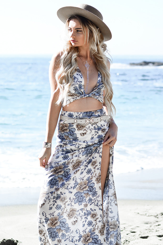 Wild Ocean Maxi Skirt - Morrisday | The Label - 2
