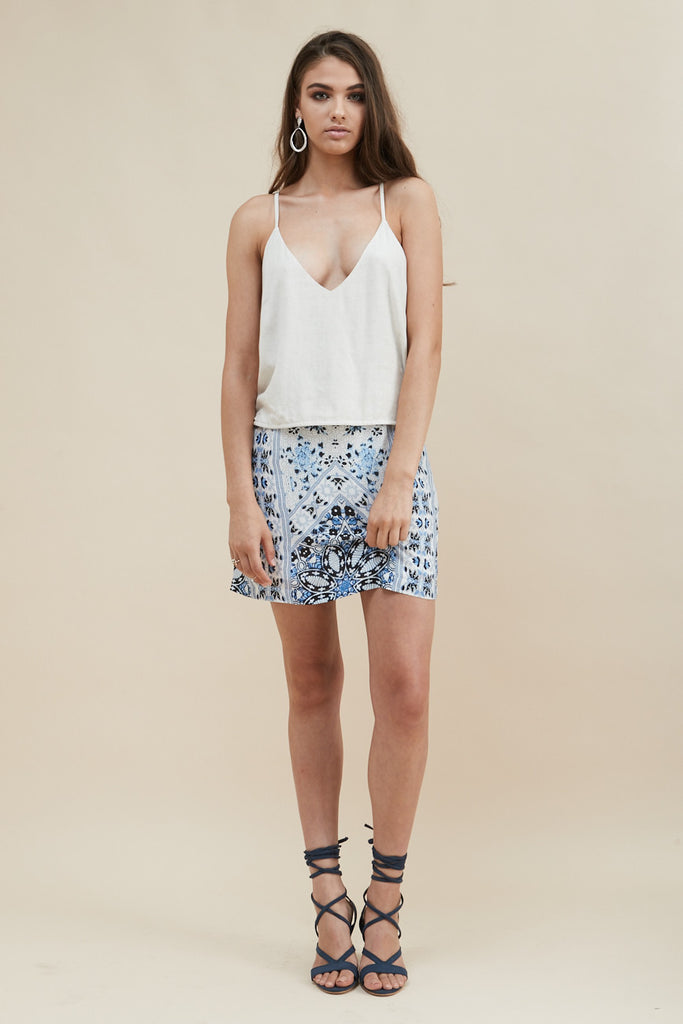 Sea Jewel Mini Skirt - Morrisday | The Label - 3