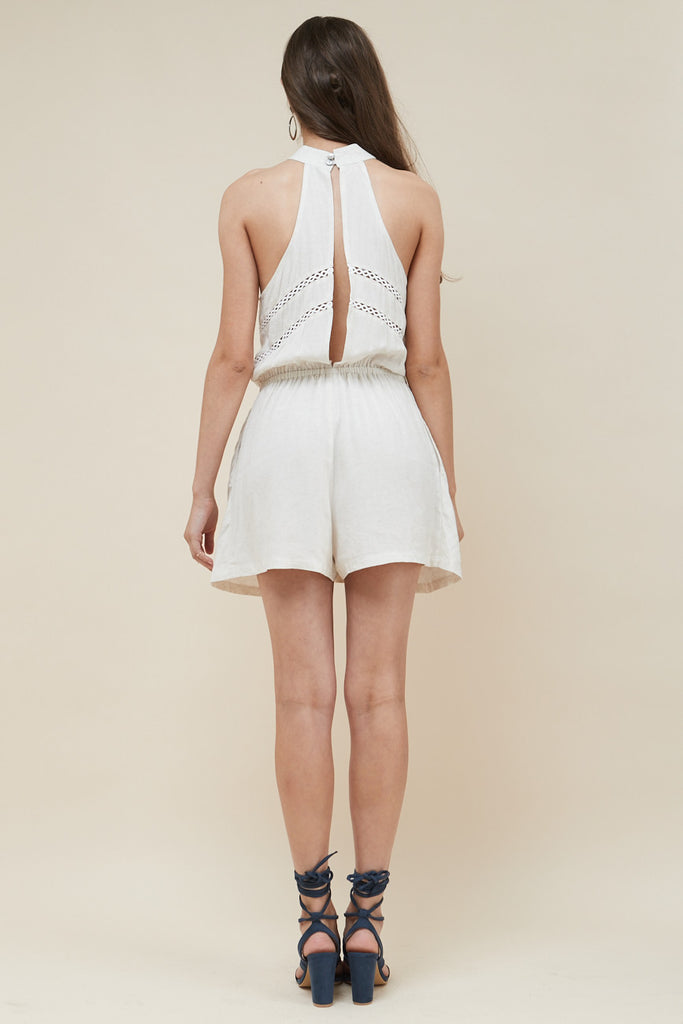 White Dunes Playsuit - Morrisday | The Label - 6