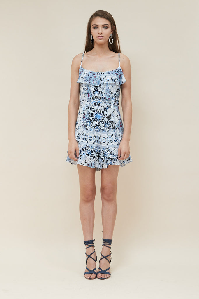 Sea Jewel Ruffle Playsuit - Morrisday | The Label - 3