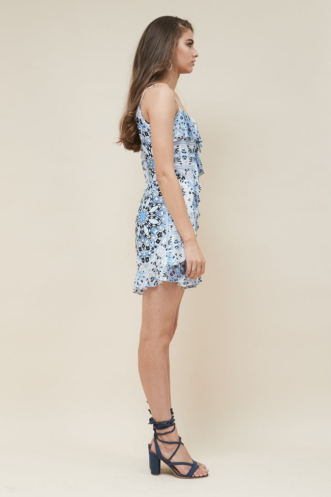 Sea Jewel Ruffle Playsuit - Morrisday | The Label - 4