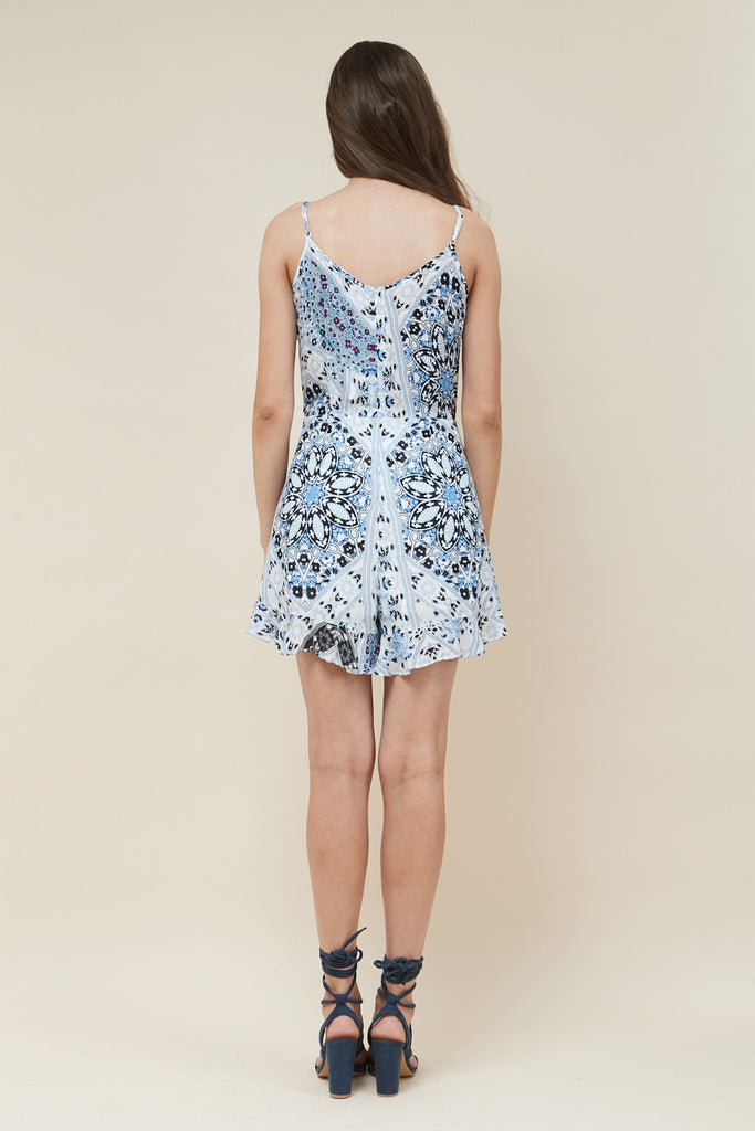 Sea Jewel Ruffle Playsuit - Morrisday | The Label - 6