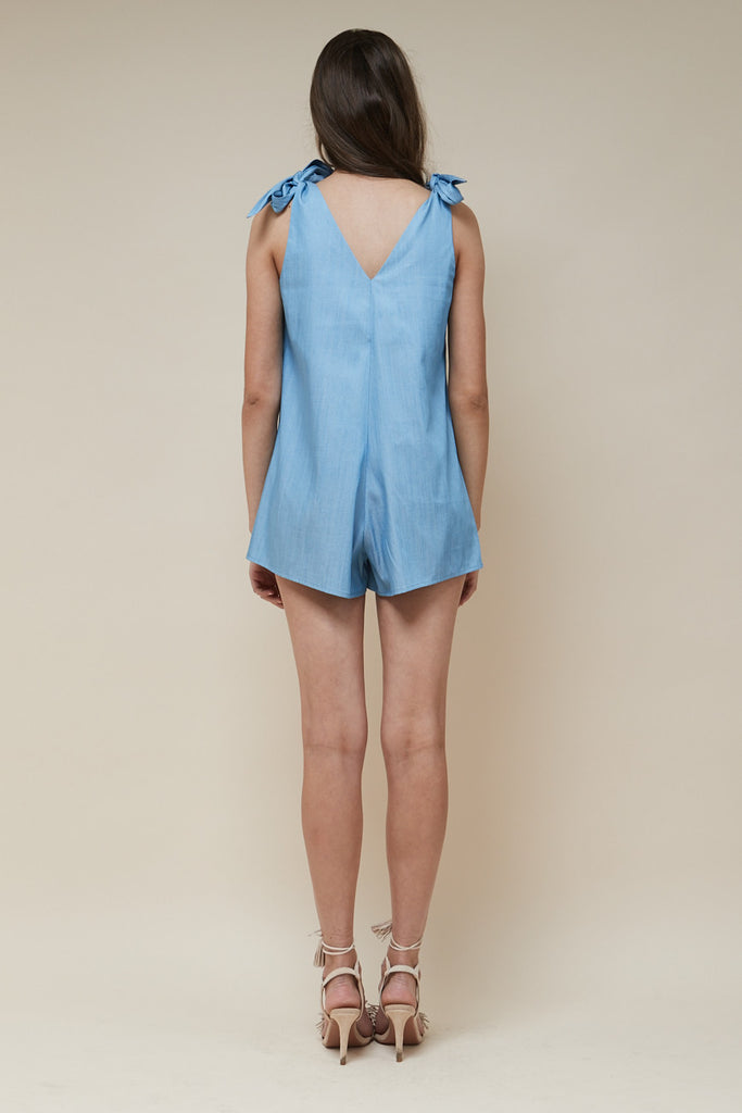 Indigo Playsuit Chambray - Morrisday | The Label - 5