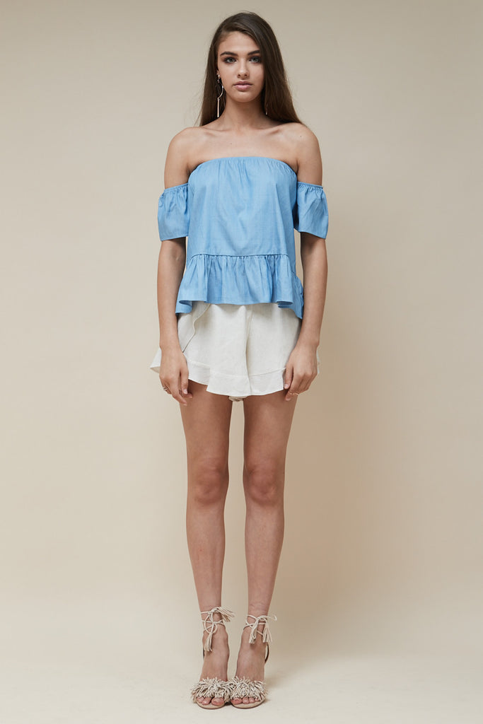 Sweet Nothing Top Chambray - Morrisday | The Label - 3