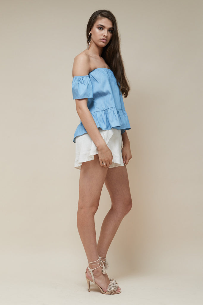 Sweet Nothing Top Chambray - Morrisday | The Label - 2