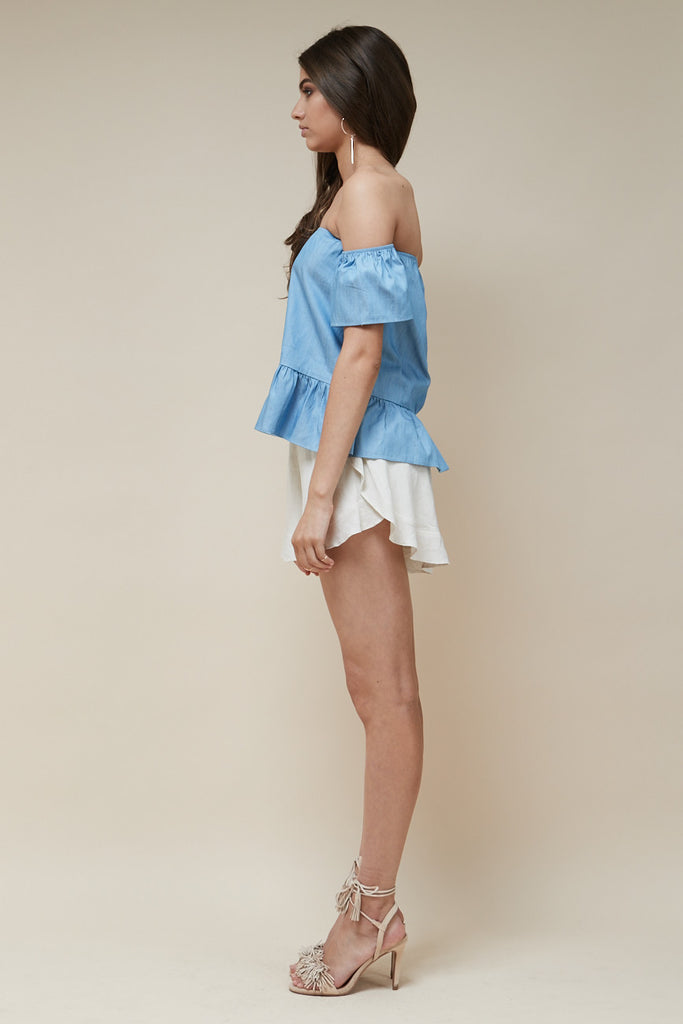 Sweet Nothing Top Chambray - Morrisday | The Label - 4