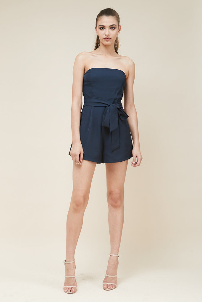 Revolver Strapless Playsuit - Morrisday | The Label - 3