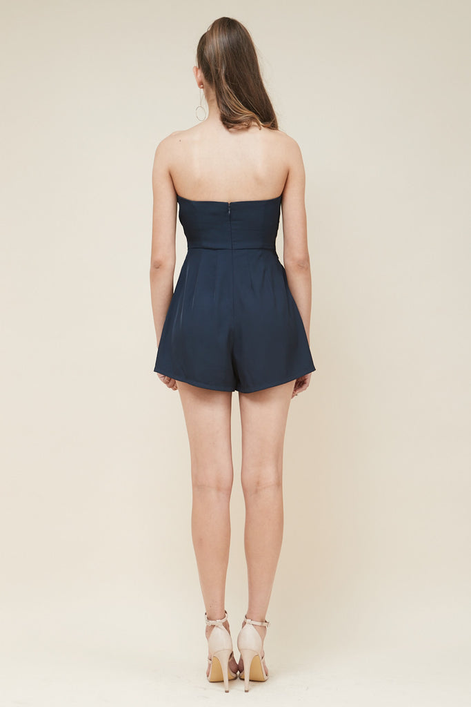Revolver Strapless Playsuit - Morrisday | The Label - 6