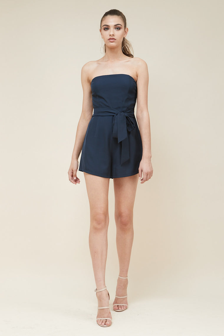 Revolver Strapless Playsuit - Morrisday | The Label - 1