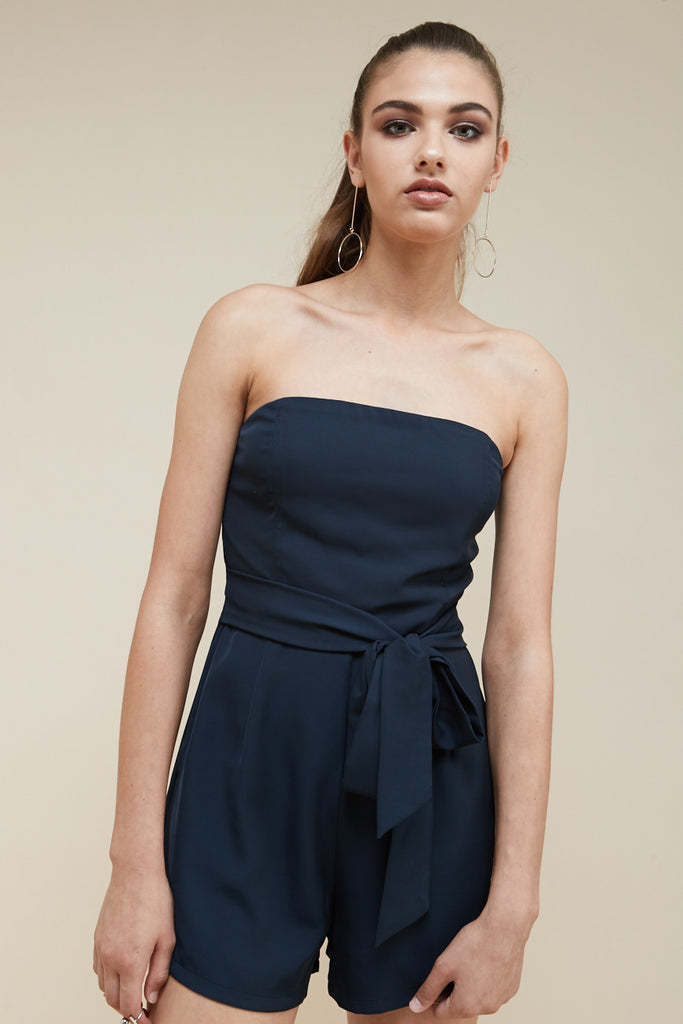 Revolver Strapless Playsuit - Morrisday | The Label - 2