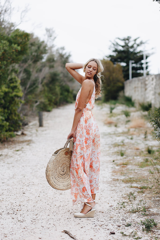 Tropical Heat Maxi Dress