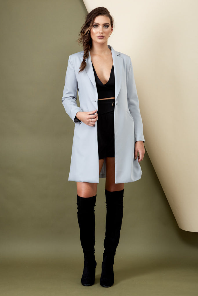 Skyfall Coat Grey - Morrisday | The Label - 7