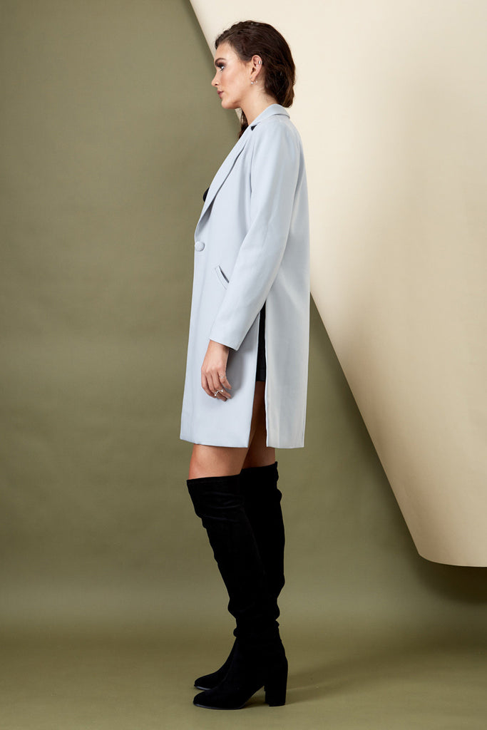 Skyfall Coat Grey - Morrisday | The Label - 8