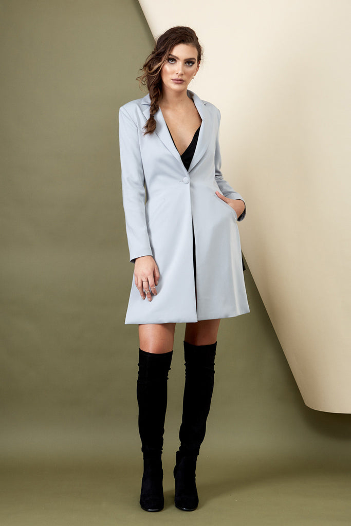 Skyfall Coat Grey - Morrisday | The Label - 12