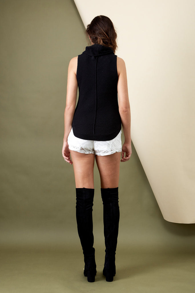 Resolution Knit Top Black - Morrisday | The Label - 4