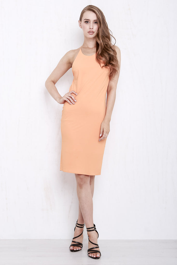 Cross My Heart Dress Tangerine - Morrisday | The Label - 3