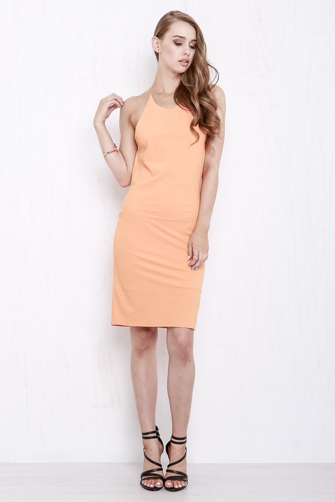 Cross My Heart Dress Tangerine - Morrisday | The Label - 4