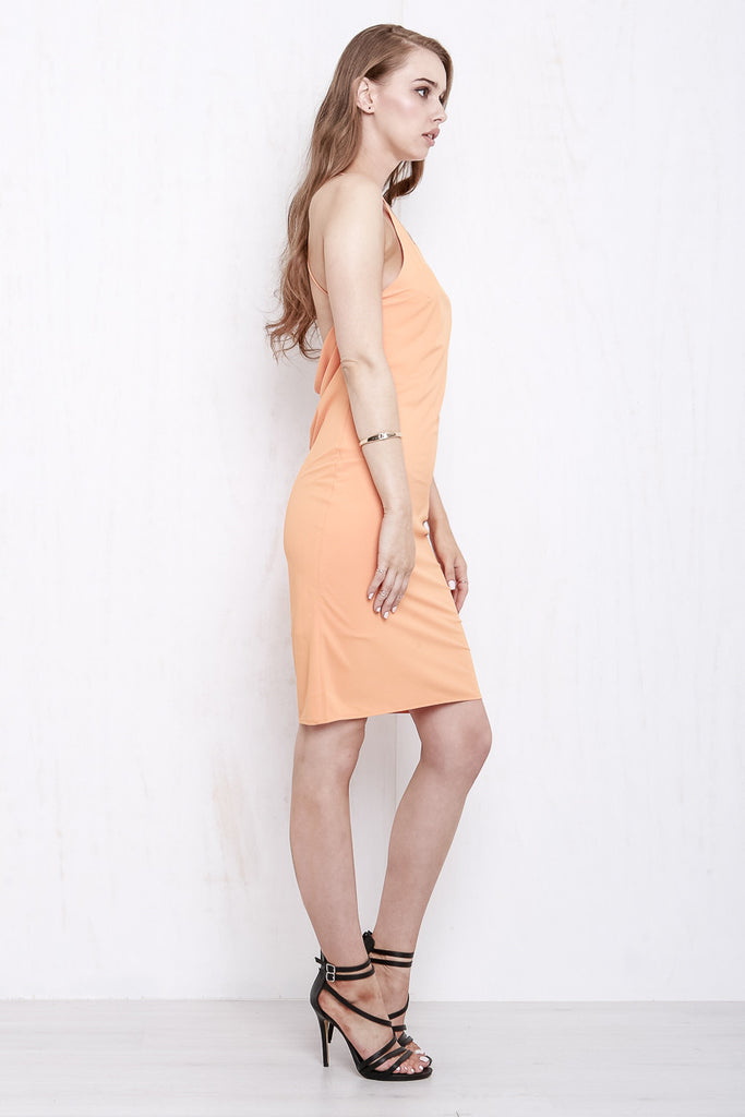 Cross My Heart Dress Tangerine - Morrisday | The Label - 5