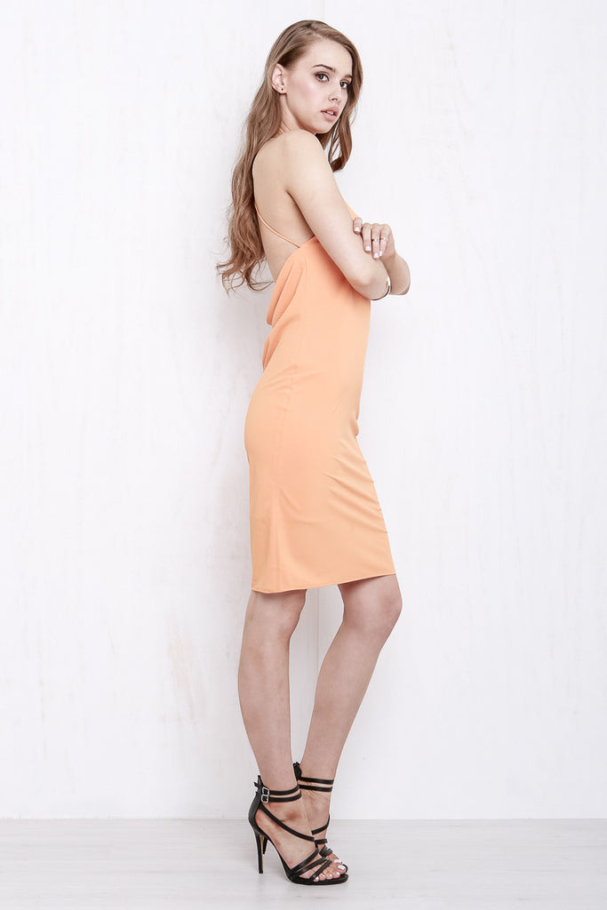 Cross My Heart Dress Tangerine - Morrisday | The Label - 6