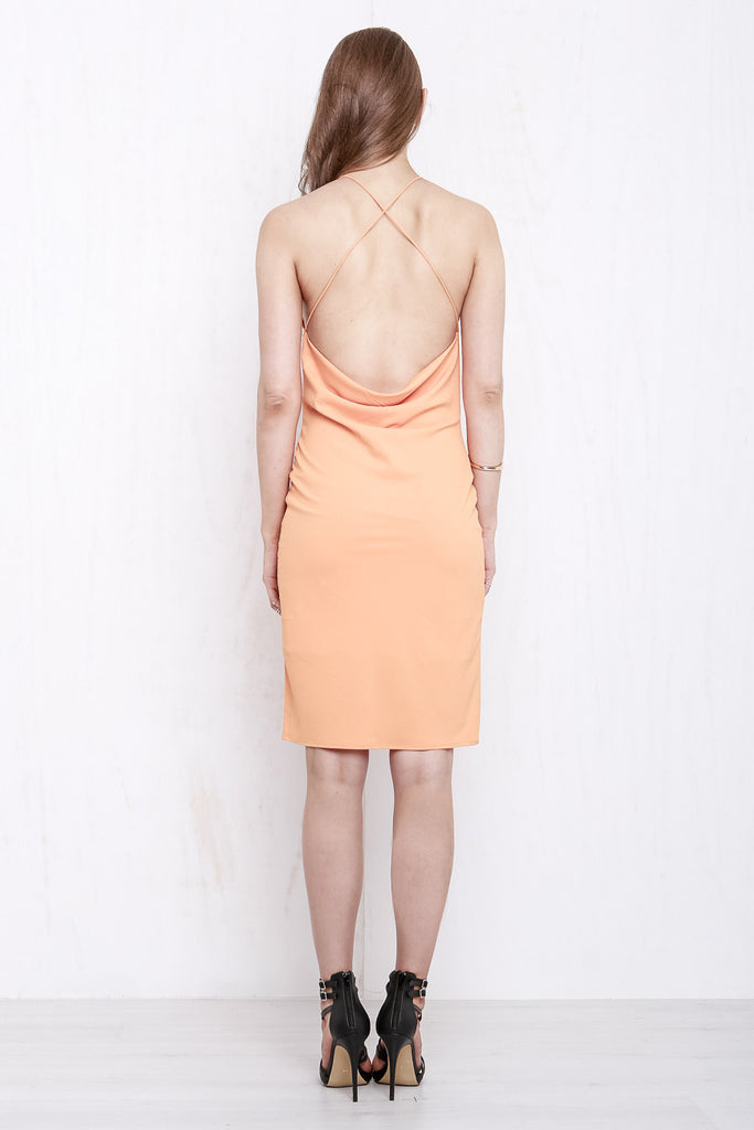 Cross My Heart Dress Tangerine - Morrisday | The Label - 7